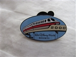 Disney Trading Pins  39 Walt Disney World Resorts - 2000 (Monorail)