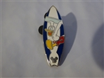 Disney Trading Pin 39028 Disneyland Resort Cast Lanyard Collection III (Surfboard Donald)