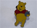 Disney Trading Pin 39039 Pooh with Hunny Pot & Hand Behind his Back