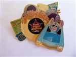 Disney Trading Pin 39043 WDW - Stitch's Action Adventure - Rock 'N Roller Coaster