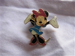 Disney Trading Pins 39085: Minnie Mouse - Hands Up (Blue Dress)