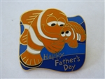 Disney Trading Pin 39103 DLR - Father's Day 2005 (Nemo & Marlin)