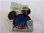 Disney Trading Pin  39122 DLR - VoluntEARS 2005 AIDS OC Walk Exclusive