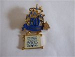 Disney Trading Pin 39247 Magical Milestones - 2005 - Happiest Homecoming On Earth