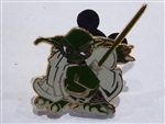 Disney Trading Pin 39255: Star Wars - Yoda - Cartoon Style
