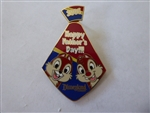 Disney Trading Pin 39295 DLR - Father's Day 2005 (Chip & Dale)