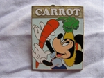 Disney Trading Pin 39378: WDW - Our Disney Garden Series 2005 (Mickey Mouse/Carrot)