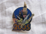 Disney Trading Pin 39452: DLR - Magical Milestones 2005 Starter Set (2005 Tinker Bell Pin Only)