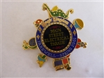 Disney Trading Pin  3985 Main Street Electrical Parade Farewell Spring 2001