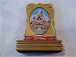 Disney Trading Pin   39931 DLR - Celebrating 50 Years of Magical Memories - Sleeping Beauty Castle (Jumbo Spinner)