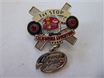 Disney Trading Pin 4013 DCA - February 2001 Artist Choice (1st Stop Dangle)