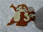 Disney Trading Pin  40461 WDW - Character Pin Card Collection 2005 (Chip & Dale)