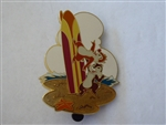 Disney Trading Pin  40798 JDS - Surfboard Series (Chip & Dale)