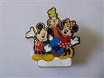 Disney Pin DCA Kwanzaa 2001 8419 Mickey with Pluto and Goofy