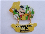 Disney Trading Pins  41145 DLR - Labor Day 2005 - Mickey Mouse & Pluto