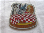 Disney Trading Pins 41242: Stitch Invades Series (Lady and the Tramp)