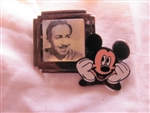 Disney Trading Pins 417: DS - Countdown to the Millennium Series #101 (Walt Disney and Mickey)