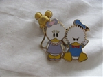 Disney Trading pin 41866 Cute Characters - Donald & Daisy Duck - Balloon