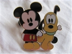 Disney Trading Pin  41868: Cute Characters - Mickey Mouse & Pluto