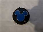Disney Trading Pin WDW Cast Lanyard Collection 4 - Mickey Icon (Blue)