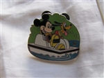 Disney Trading Pins 42032: WDW Cast Lanyard Collection 4 - Recreation (Mickey & Pluto Paddle Boat)