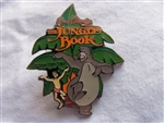 Disney Trading Pin 421: DS - Countdown to the Millennium Series #76 (Jungle Book / Mowgli / Baloo)