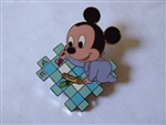 Disney Trading Pin 42261 Disney Mall - Disney Babies (Mickey Drawing) Artist Proof