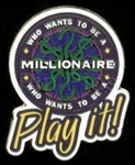 Disney Trading Pin Who Wants to Be a Millionaire Play It!