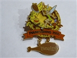 Disney Trading Pin 42532 DLR - Thanksgiving 2005 - Tinker Bell