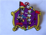 Disney Trading Pin 42799 Disney Auctions - Mickey's Big Top (Donald Duck & Nephews) artist proof