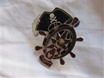 Disney Trading Pin 43203: WDW Cast Lanyard Collection 4 - Pirates of the Caribbean (Pirate Hat & Ship's Wheel)