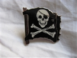 Disney Trading Pin 43204: WDW Cast Lanyard Collection 4 - Pirates of the Caribbean (Skull & Crossbones Flag)