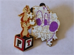 Disney Trading Pins  43240 DLR - Create-A-Pin - Putting the Pieces Together (Chip n' Dale)