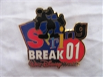 Disney Trading Pin 4342 WDW Spring Break 2001