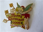 Disney Trading Pins  43594 WDW - Merry Christmas 2005 - Pin Display Tree & Tinker Bell (Pin Only)