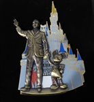 Disney Trading Pins 43610 WDW - Partners/Cinderella Castle (Jumbo/3D)