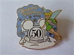 Disney Trading Pin 43617 DLR - Cast Working - Happy Holiday 2005 (Tinker Bell)
