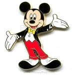 Disney Trading Pins Mickey Mouse in Tuxedo (Movie Star)