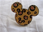 Mickey Mouse Head Icon (Animal Print)