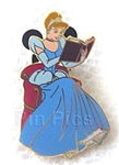 Disney Trading Pin 44104: Reading a Book - 2 Pin Set (Cinderella Only)