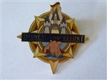 Disney Trading Pin 4503 Disneyland® Resort Souvenir Logo Pin