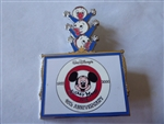 Disney Trading Pin 45190 Mickey Mouse Club 45th Anniversary Framed Set (Huey, Dewey & Louie Rising) Silver Prototype