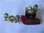 Disney Trading Pin 45436 Disney Auctions - St. Patrick's Day Parade Set (Uncle Scrooge and Nephews) Artist Proof