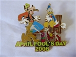 Disney Trading Pin 45576 Disney Auctions - April Fool's Day 2006 (Jumbo) (ARTIST PROOF)
