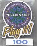 Disney Trading Pin 4559: Who Wants to Be a Millionaire: Play it! Set (100 Points)