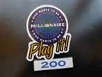 Disney Trading Pin  4560 Who Wants to Be a Millionaire: Play it! Set (200 Points)