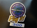 Disney Trading Pin  4561 Who Wants to Be a Millionaire: Play It! (300 Points)