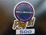 Disney Trading Pin  4562 Who Wants to Be a Millionaire: Play it! Set (500 Points)