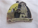 Disney Trading Pin 45773: Pirates of the Caribbean (Skeleton on Beach) 3D