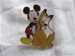 Disney Trading Pin 45836: Booster Collection - Mickey Mouse & Friends (4 Pin Set) Mickey & Pluto